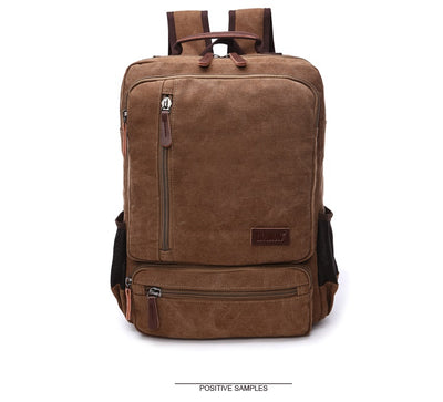 Vintage Fashion Casual Canvas Backpack