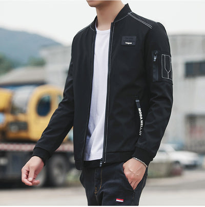 Male Baseball Bomber Jacket