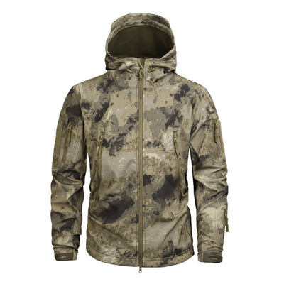 Military US Army Tactical Sharkskin Soft-shell Jacket and Coat