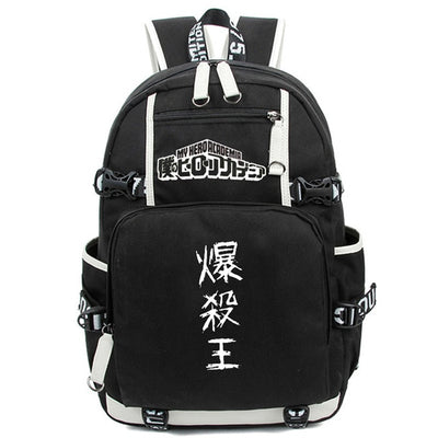 Anime Boku No Hero Academia Cosplay Backpack
