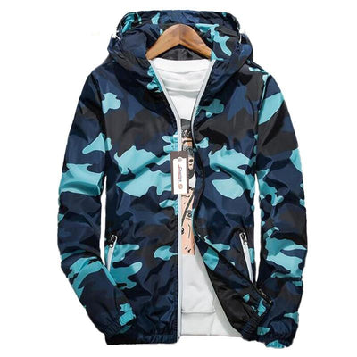 Spring Men Brand Camouflage Jackets