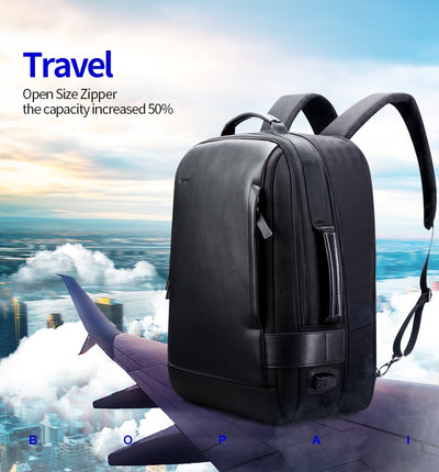 Enlarge USB External Charge 15.6 Inch Laptop Backpack