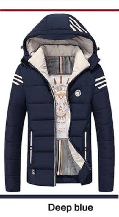 Casual Thick Warm Mens Jackets And Coats