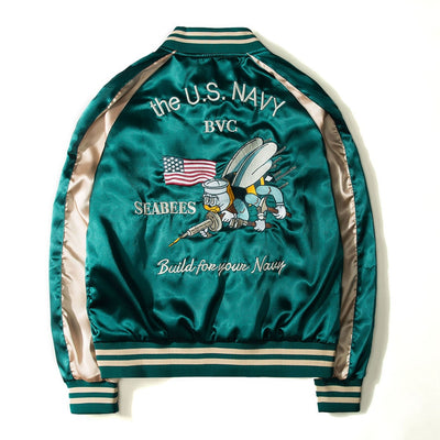 Smooth Men Sukajan Yokosuka Souvenir Jacket