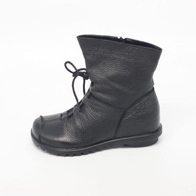 Genuine Vintage style Leather Handmade Women Boots