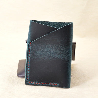 Top Cow Leather Credit Card Holder Minimalist Wallet