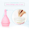 Medical grade silicone reusable period cup