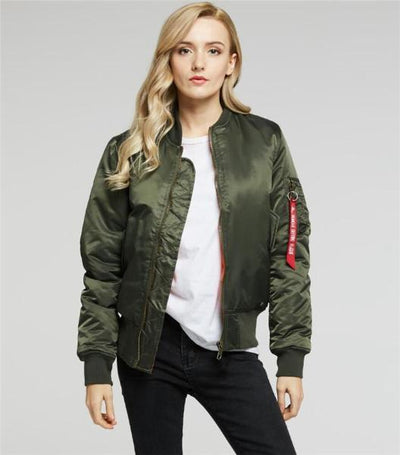 Plus Size US Air Force Pilot Ma1 Bomber Flight Jacket