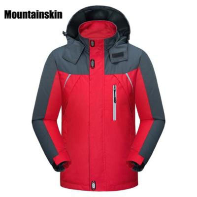 Casual Hooded Mens Windbreaker Windproof Waterproof Brand
