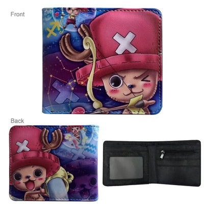 Naruto/Tokyo Ghoul/One Piece/Death Note Anime Wallet