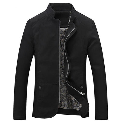 Cotton Outerwear Mens Coats Trench Windbreaker
