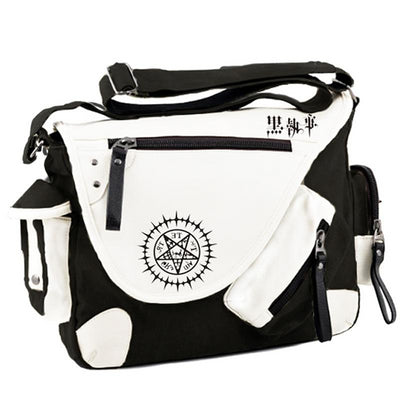 Fashion Anime Black Butler Kuroshitsuji Cosplay Shoulder Bag