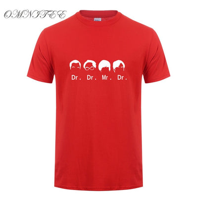 The Big Bang Theory Dr. Cooper Dr.Hofstadter Dr. Koothrappali Mr .Wolowitz  Leonard T-Shirts