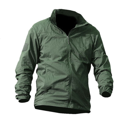 thin Hooded Windbreaker Fast Dry Sun UV Protection Jacket