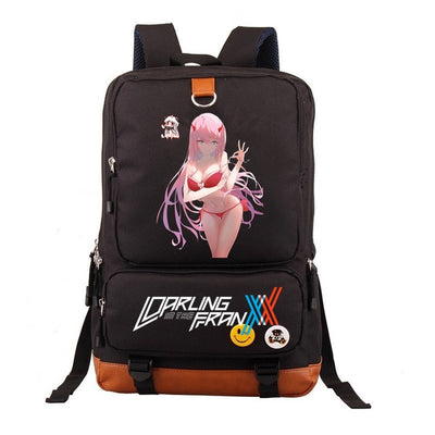 DITF Anime DARLING in the FRANXX Haruka Tomatsu Zero Two Backpack