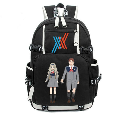 Anime DARLING in the FRANXX larger capacity Backpack