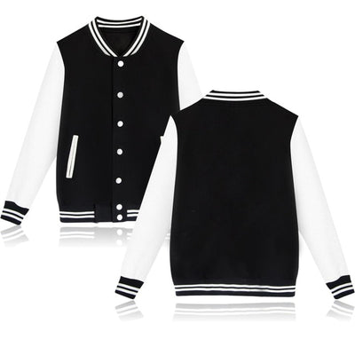 Baseball Clothing Casual Men's Jackets