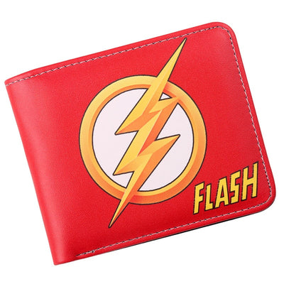 The Flash Comic Logo Bi-Fold Wallet