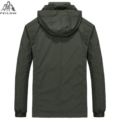 Autumn Mens Casual military Hoodie Jacket