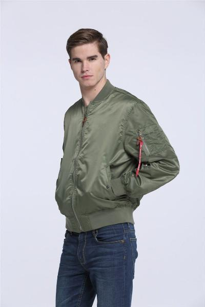 Waterproof High Quality Ma1 Army Green Tactical Military Jacket for Men