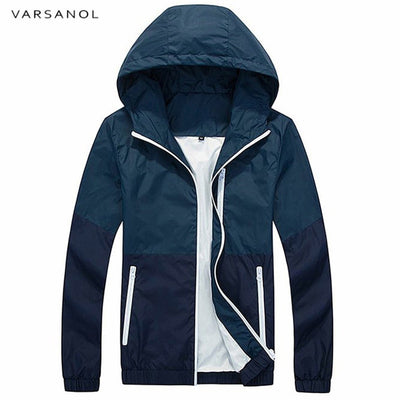 Men's Hooded Casual Jackets