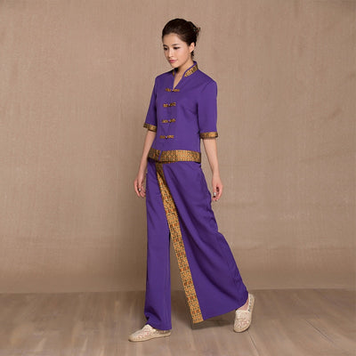 Thai Spa Beauty Salon work clothes beautician Shop work Uniform