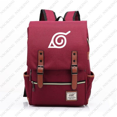 Naruto New Personalized Anime Student School Canvas Bag