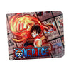 anime one piece luffy/Ace Cosplay PU Wallet