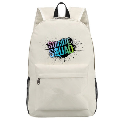 Kid's Suicide Squad Harley Quinn students Backpack