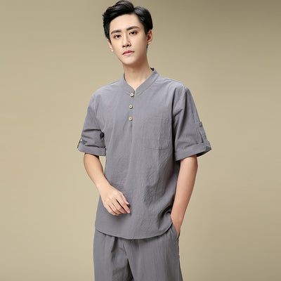 Autumn winter bath foot therapy work clothes Male