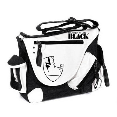 Darker Than Black Japan Anime Canvas Shoulder Bag Travel Messenger Bags