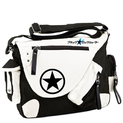 Anime Black Rock Shooter BRS Cosplay Messenger Bags