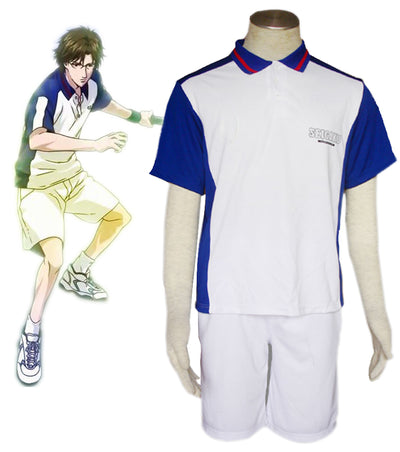 The Prince of Tenni Seigaku Tennis Team Summer Uniform Cosplay Costume