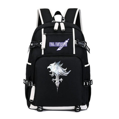 Game Final Fantasy FF7 Travel Laptop Backpack