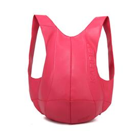 Women PU Leather School Leisure Backpacks