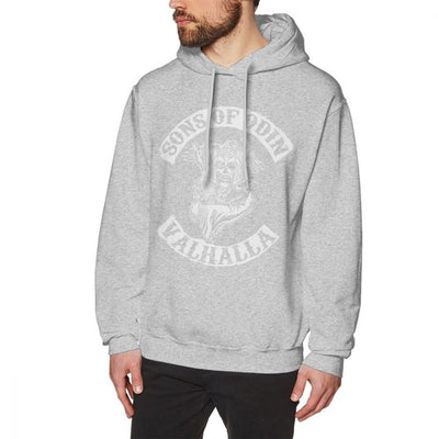 Sons Of Anarchy Hoodie Sons Of Odin Valhalla Chapter Hoodies Nice Loose Pullover Hoodie