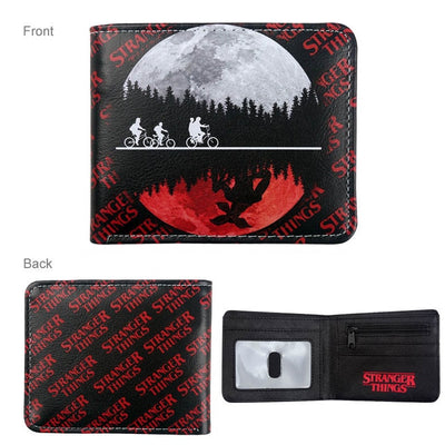 Stranger Things Money Bag Credit/ID Card Coin Holder Wallet