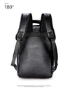 Fashion Men Waterproof PU Leather Travel Backpack