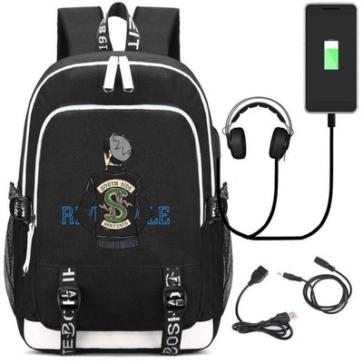 Riverdale South side serpents USB Charging Backpacks