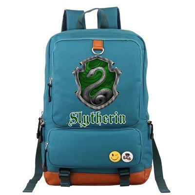 Hufflepuff Slytherin Gryffindor Boy Girl School Backpack