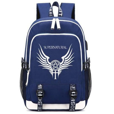 Supernatural SPN Fans Rucksack Backpack