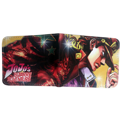 Cartoon bizarre adventure jojo wallet