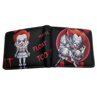 stephen king it movie friday 13th chucky nightmare on elm street mens wallets