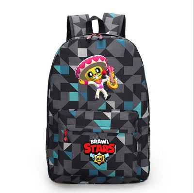 Brawl Stars students canvas Laptop Backpack