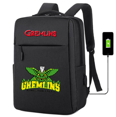 Gremlins Gizmo usb charging canvas Backpack