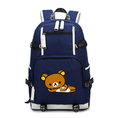 Rilakkuma Canvas School Backpack