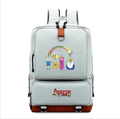 Children's Adventure Time mochila printing Backpack