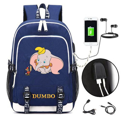 Dumbo canvas Casual Laptop Backpack