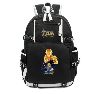 The Legend of Zelda Canvas School Backpack