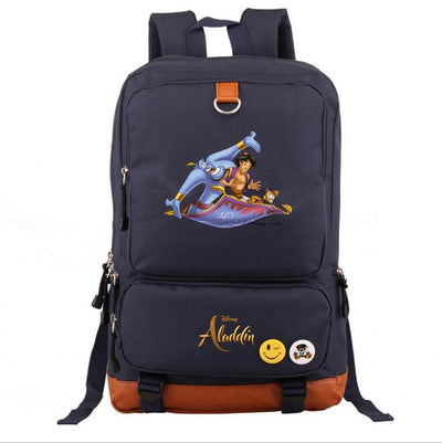 Children's Aladdin mochila printing Backpack for teenagers